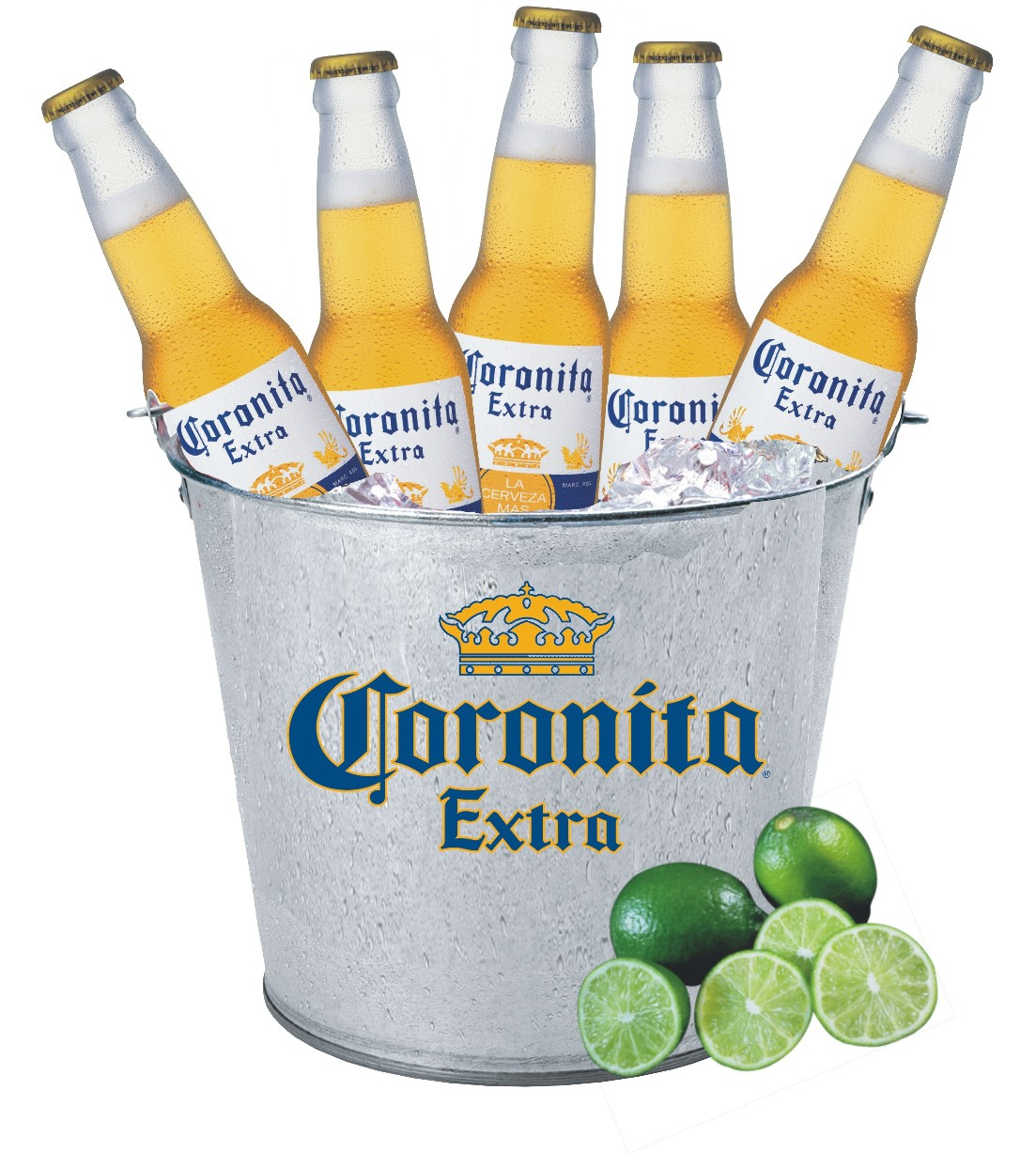 Ice bucket of beer